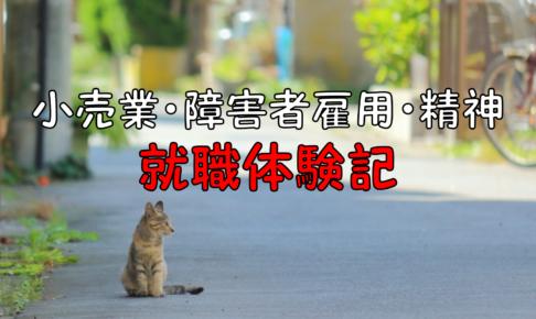 仙台市小売業障害者雇用就職体験記