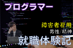 プログラマー就職体験記